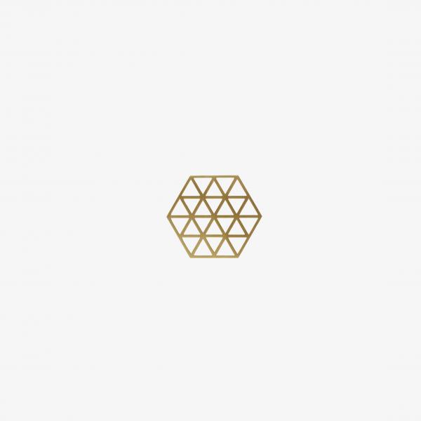 Hexagon Bronze Coaster